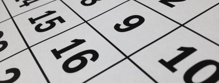 Queensland Small business key dates